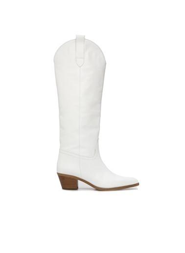 Divarese Çizme Beyaz